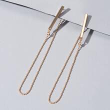 Chain Decor Earrings