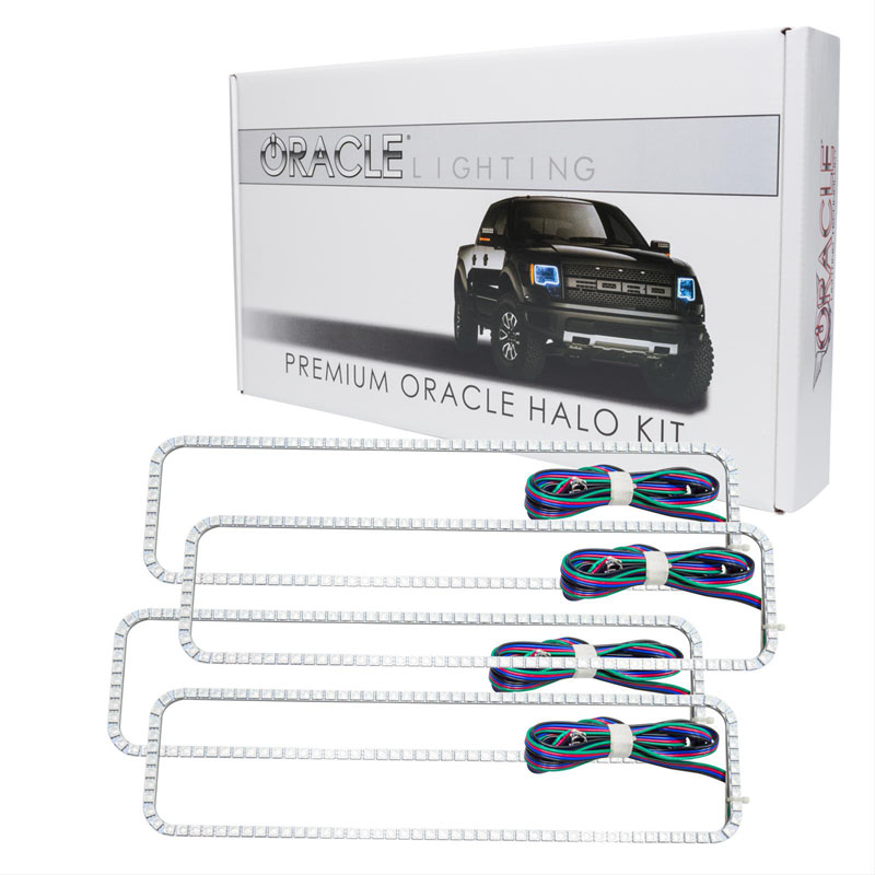 Oracle Lighting 2282-504 Chevrolet Tahoe 1995-2000 ORACLE ColorSHIFT Dual Halo Kit