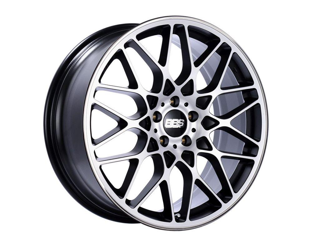 BBS RX-R Wheel 19x10 5x112 42mm Black with Diamond-Cut Face
