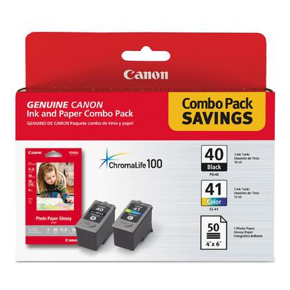 Canon PIXMA MX300 cartouches encre noire et couleur originales, ensemble de 2 paquet