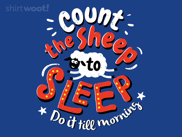 Count The Sheep T Shirt