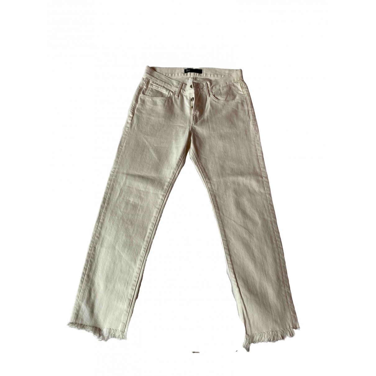 3x1 \N White Denim - Jeans Jeans for Women 24 US
