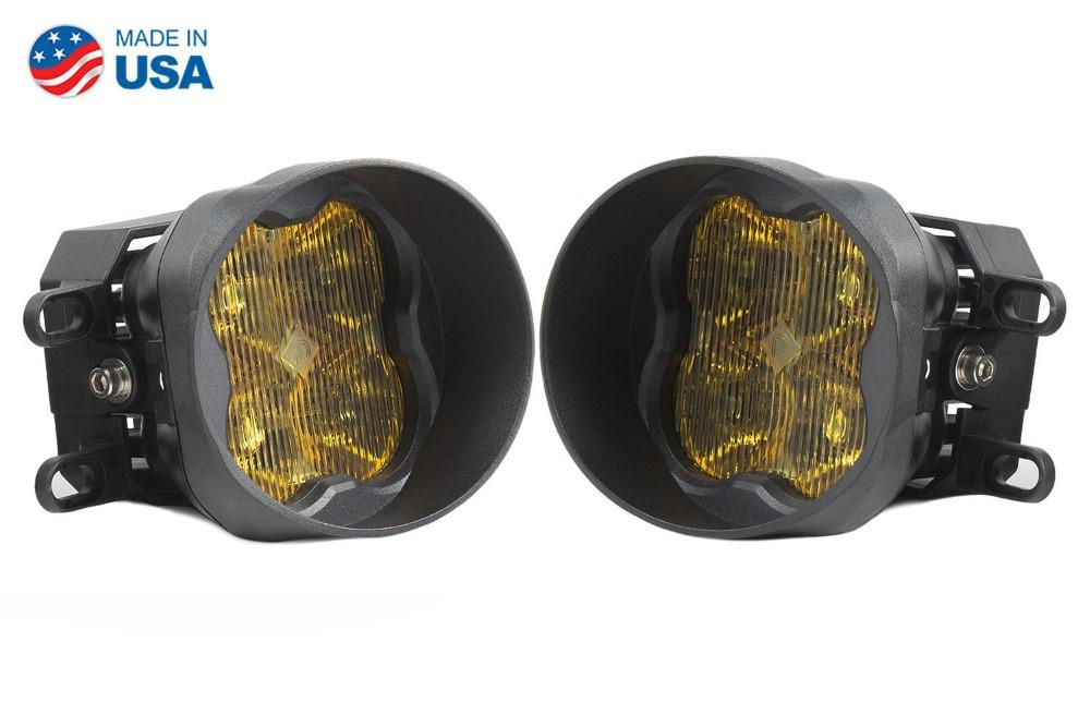 Diode Dynamics DD6191-ss3fog-3052 SS3 LED Fog Light Kit for 2008-2010 Toyota Highlander Yellow SAE/DOT Fog Pro