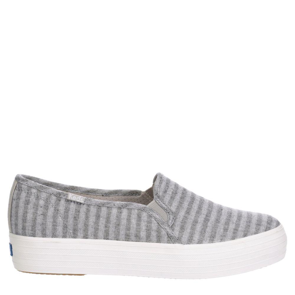Keds Womens Triple Decker Slip-On Shoes Sneakers