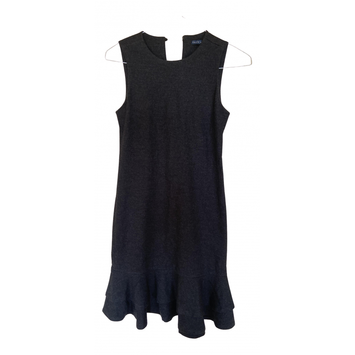 Ralph Lauren \N Grey Wool dress for Women 40 IT