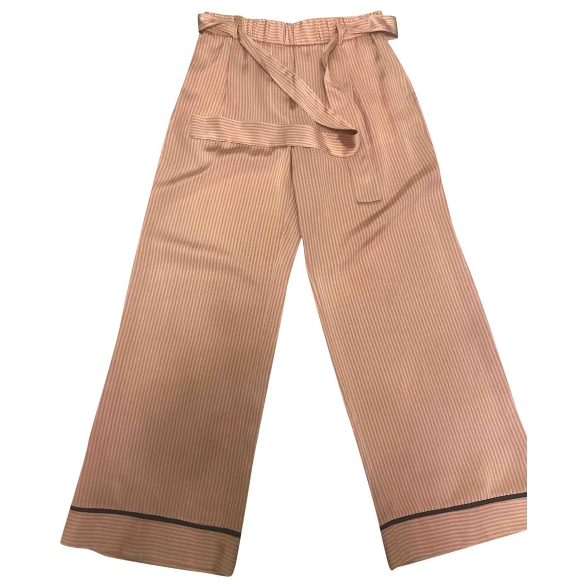 Momoni \N Trousers for Women 46 IT