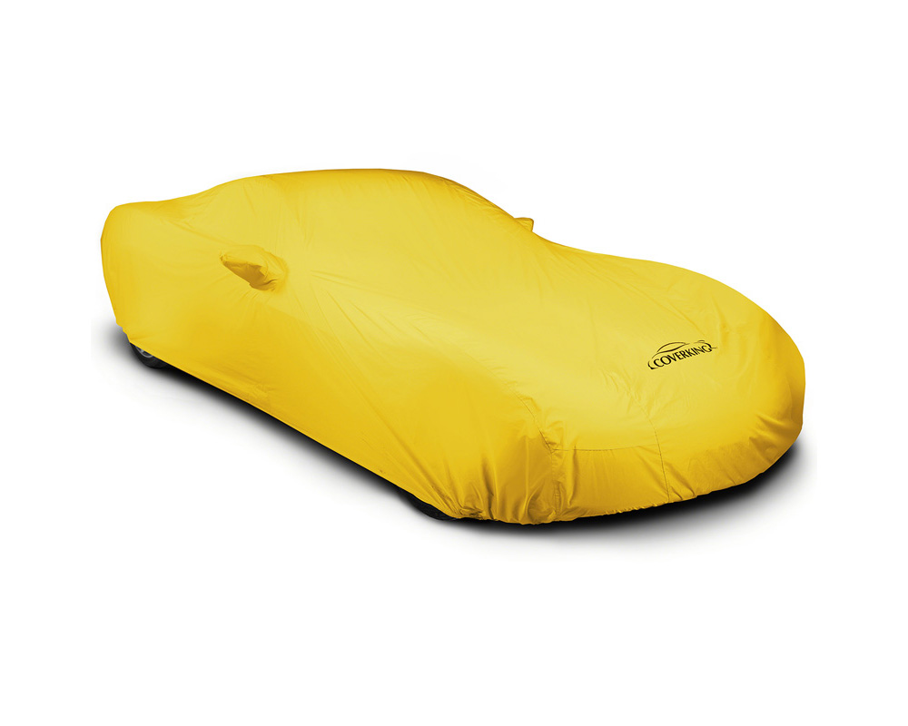 Coverking CVC4SP93DG9608 CVC4SP93 Stormproof Yellow Custom Car Cover Dodge Charger 15-19