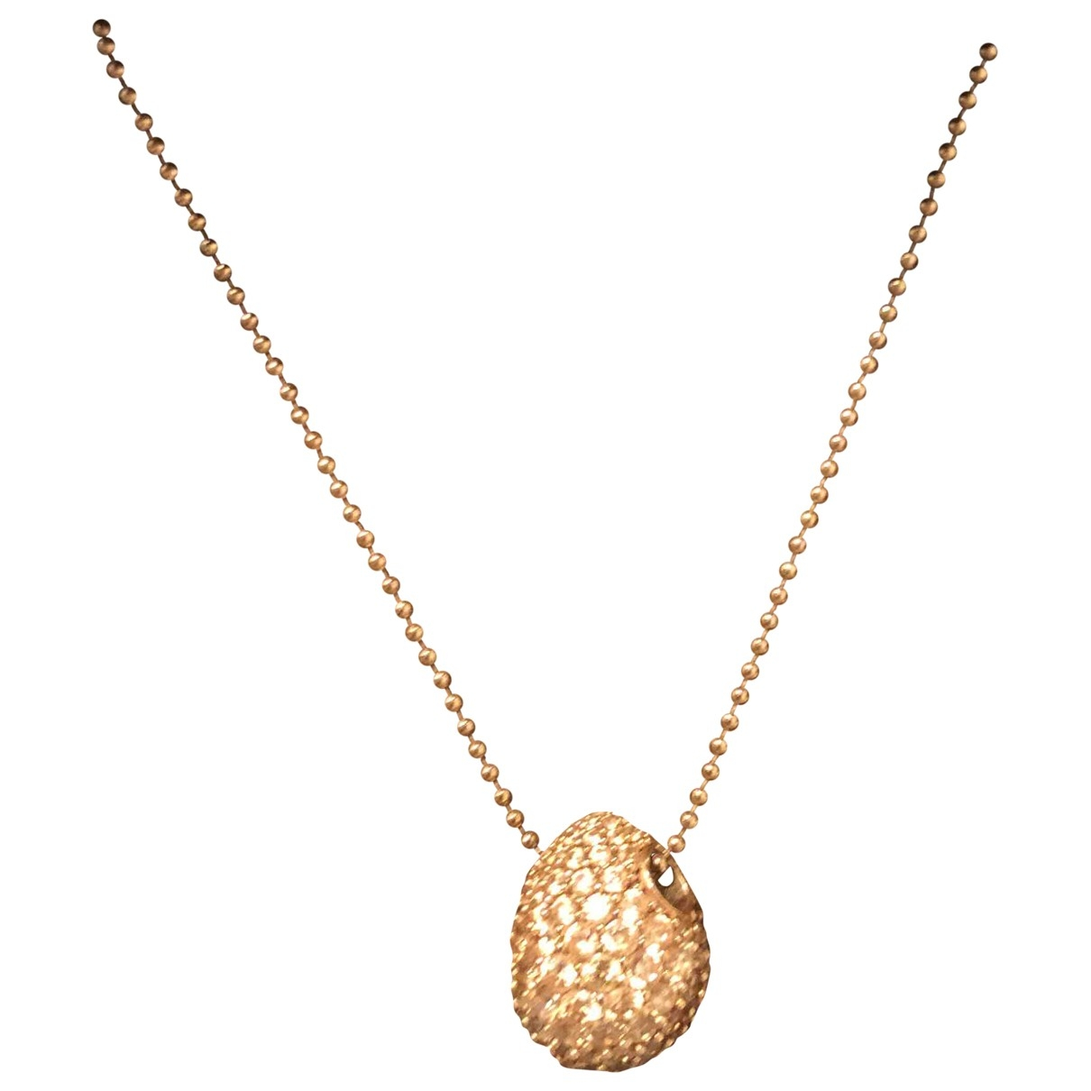 Faberge \N Pink Silver necklace for Women \N