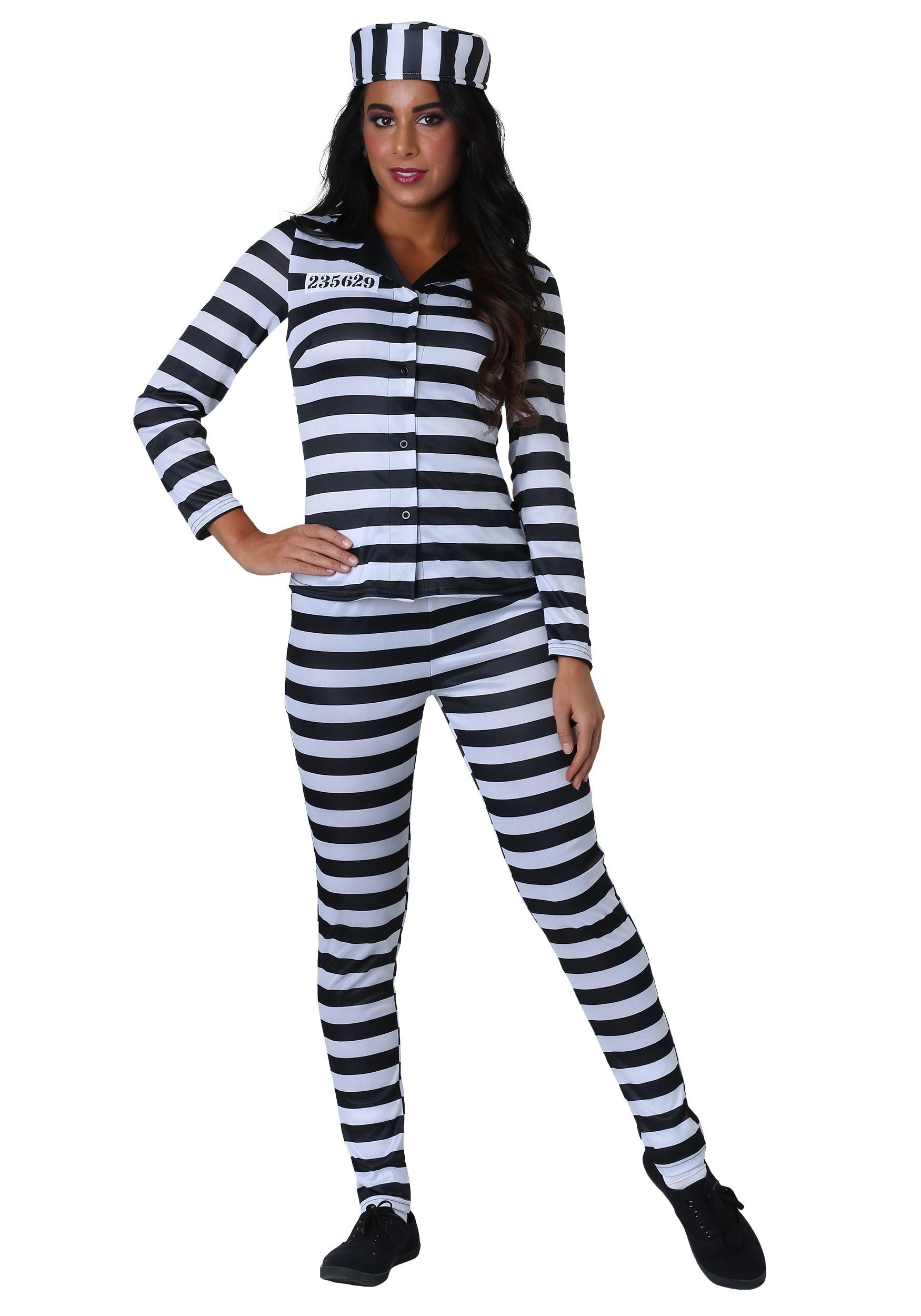 Incarcerated Cutie Costume for Women