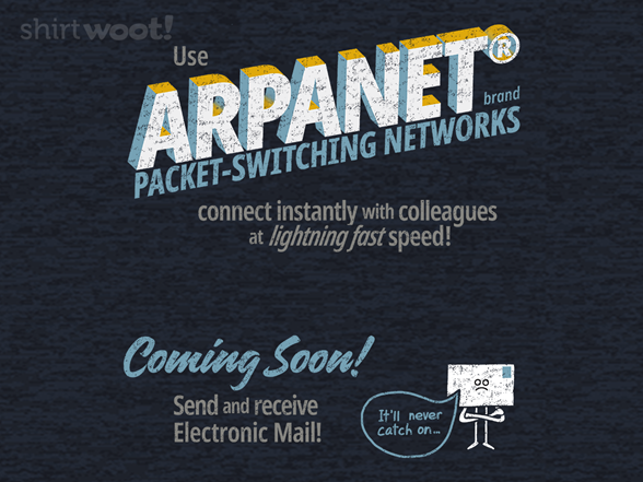 Welcome To The Arpanet T Shirt
