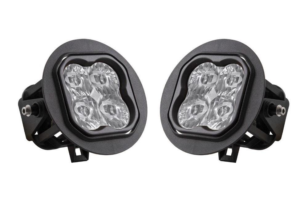 Diode Dynamics DD6233-ss3fog-3098 SS3 LED Fog Light Kit for 2008-2013 Toyota Sequoia White SAE/DOT Driving Pro