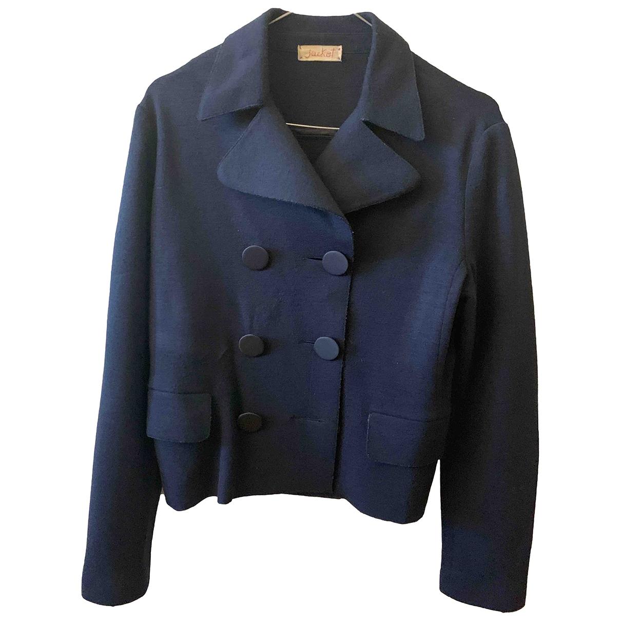 Forte_forte \N Blue Wool jacket for Women 2 0-5
