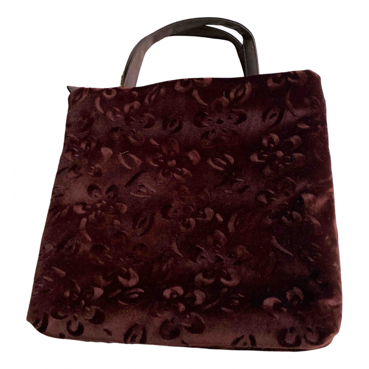 La Perla \N Brown Velvet handbag for Women \N