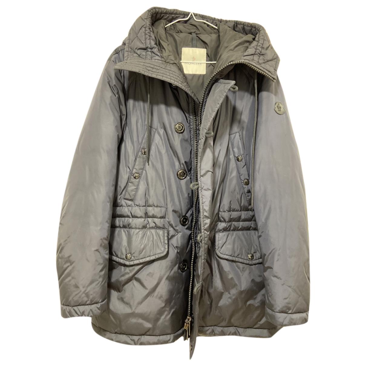 Moncler Hood Blue coat  for Men 1 0 - 6