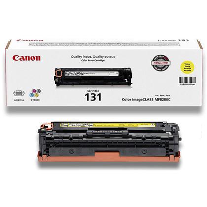 Canon 131 6269B001AA Original Yellow Toner Cartridge