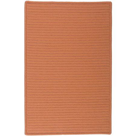 Colonial Mills Nantucket Reversible Braided Indoor/Outdoor Rectangular Rug, One Size , Orange