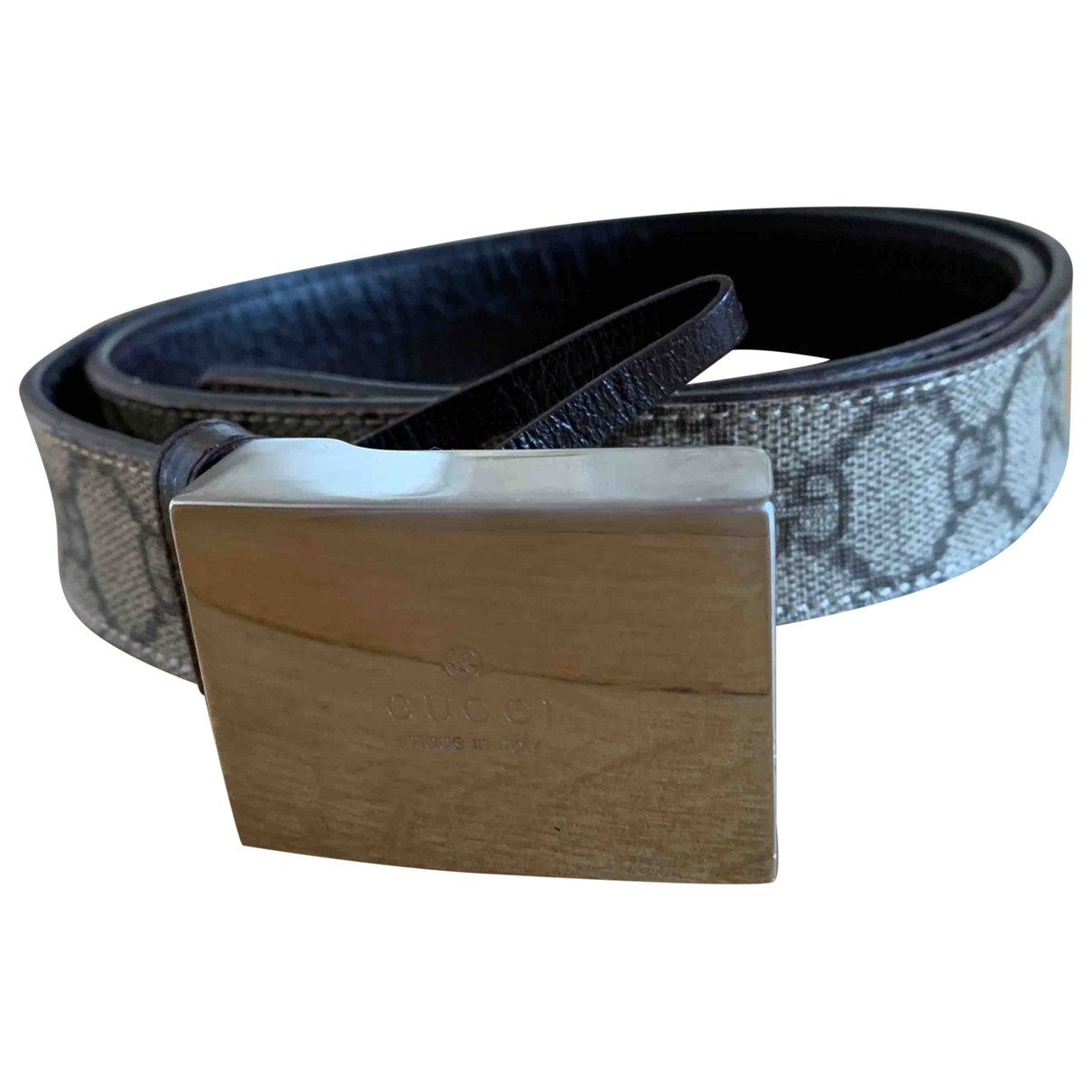 Gucci \N Beige Cloth belt for Women XS International