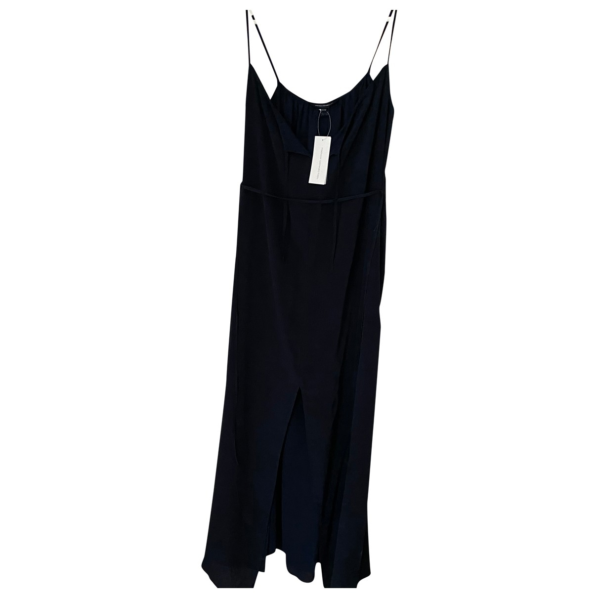 French Connection \N Blue Silk dress for Women 14 UK