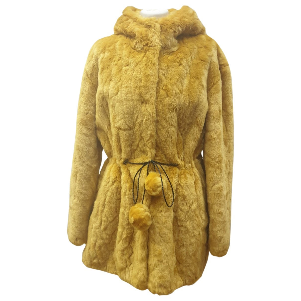 Trussardi Jeans \N Yellow Faux fur coat for Women L International