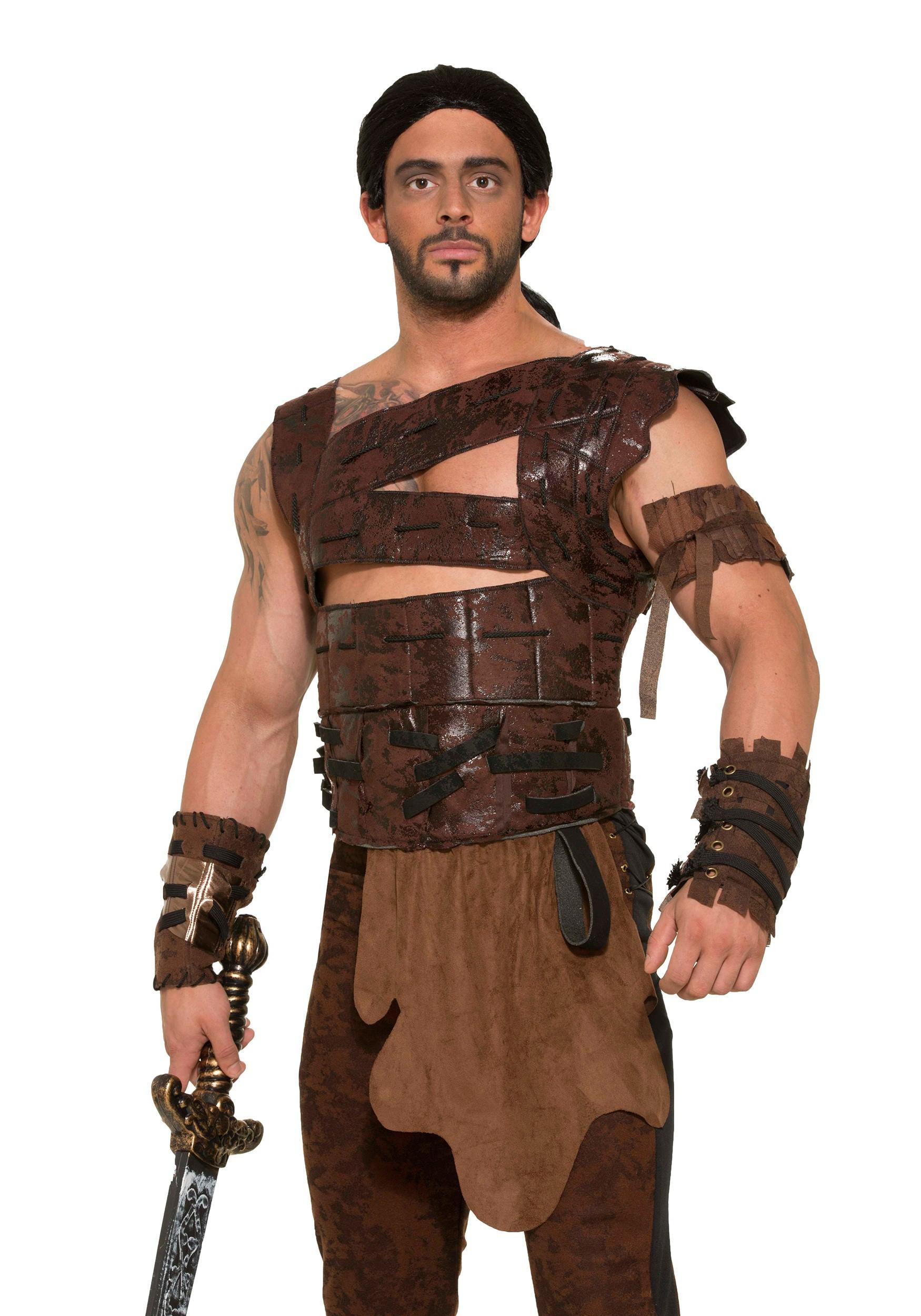 Medieval Warrior Armor Men's Costume