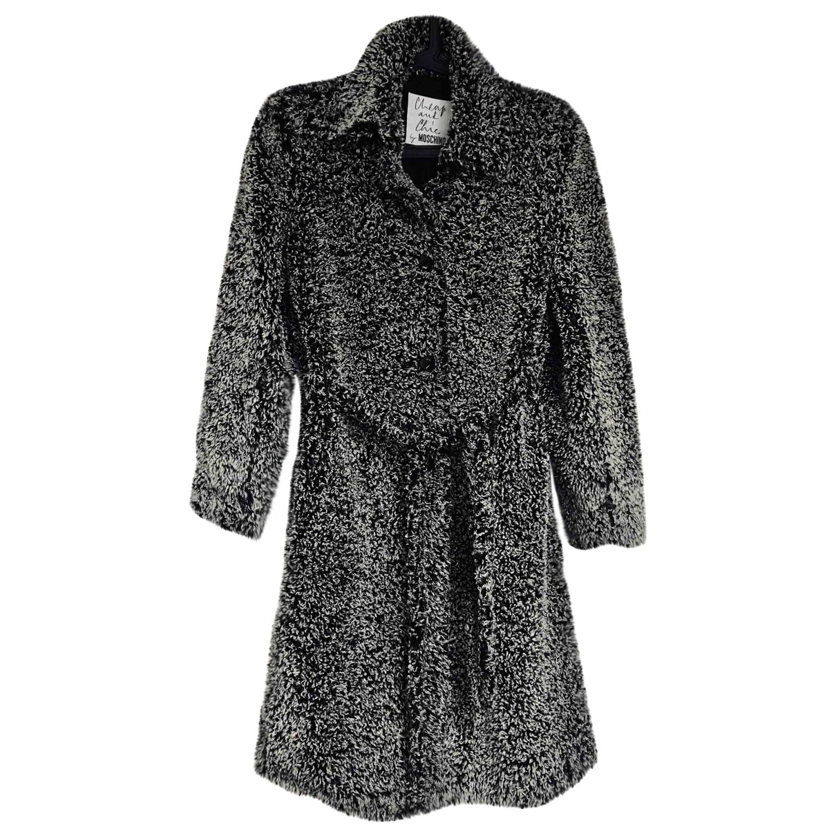 Moschino Cheap And Chic \N Black coat for Women 38 FR