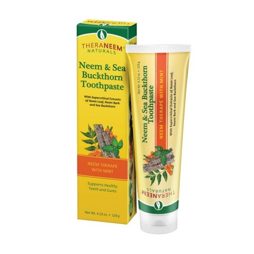 Neem & Sea Buckthorn Toothpaste 4.23 Oz by Organix South