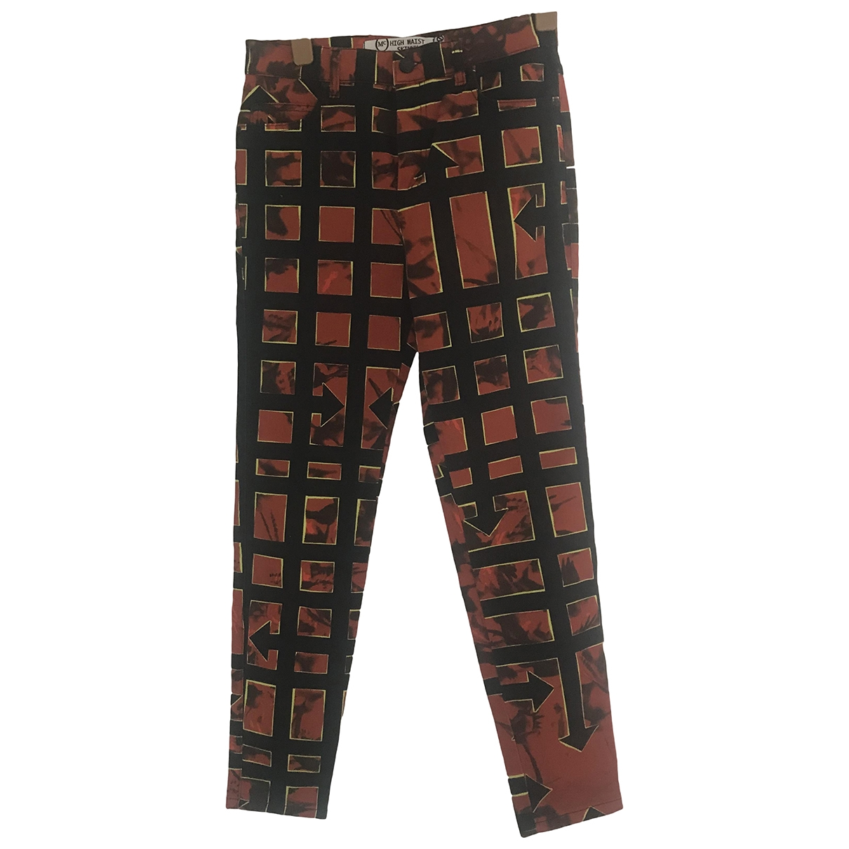 Mcq \N Red Denim - Jeans Jeans for Women 30 US