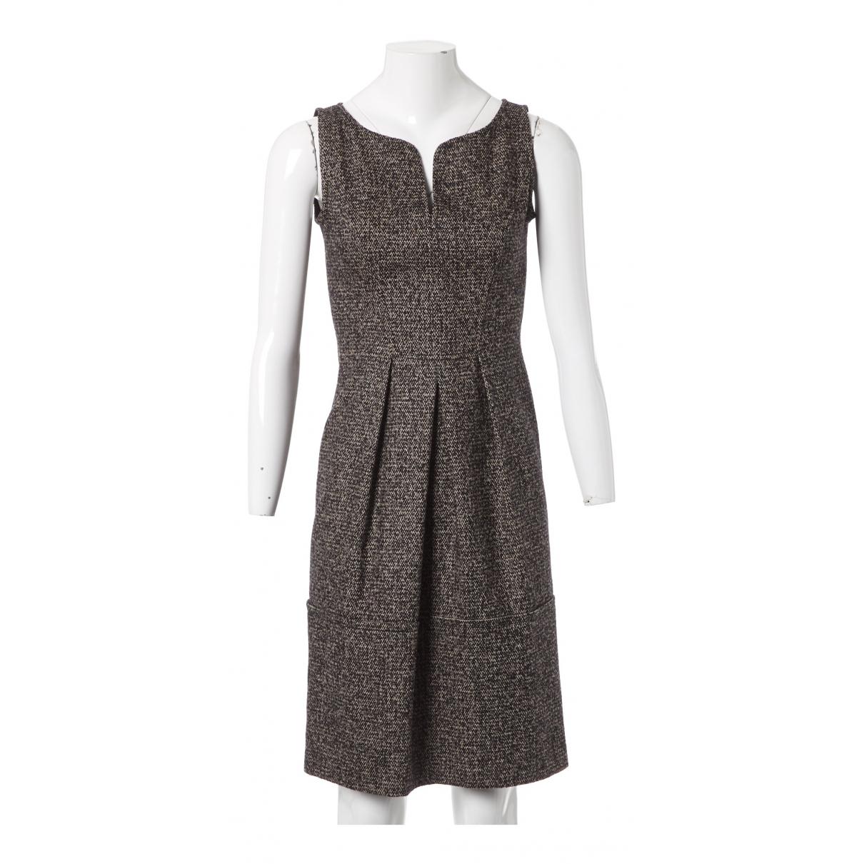 Oscar De La Renta \N Grey Wool dress for Women 1 US