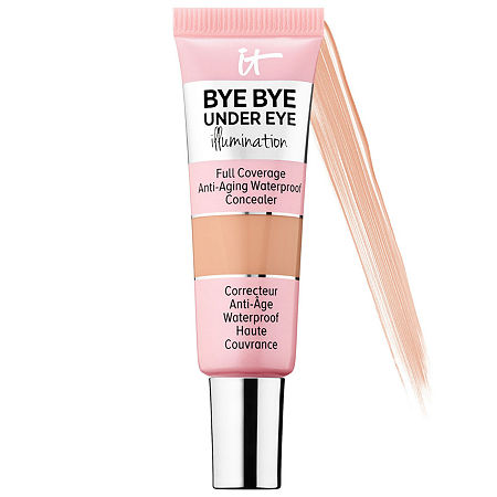 IT Cosmetics Bye Bye Under Eye Illumination™ Full Coverage Anti-Aging Waterproof Concealer, One Size , Beige
