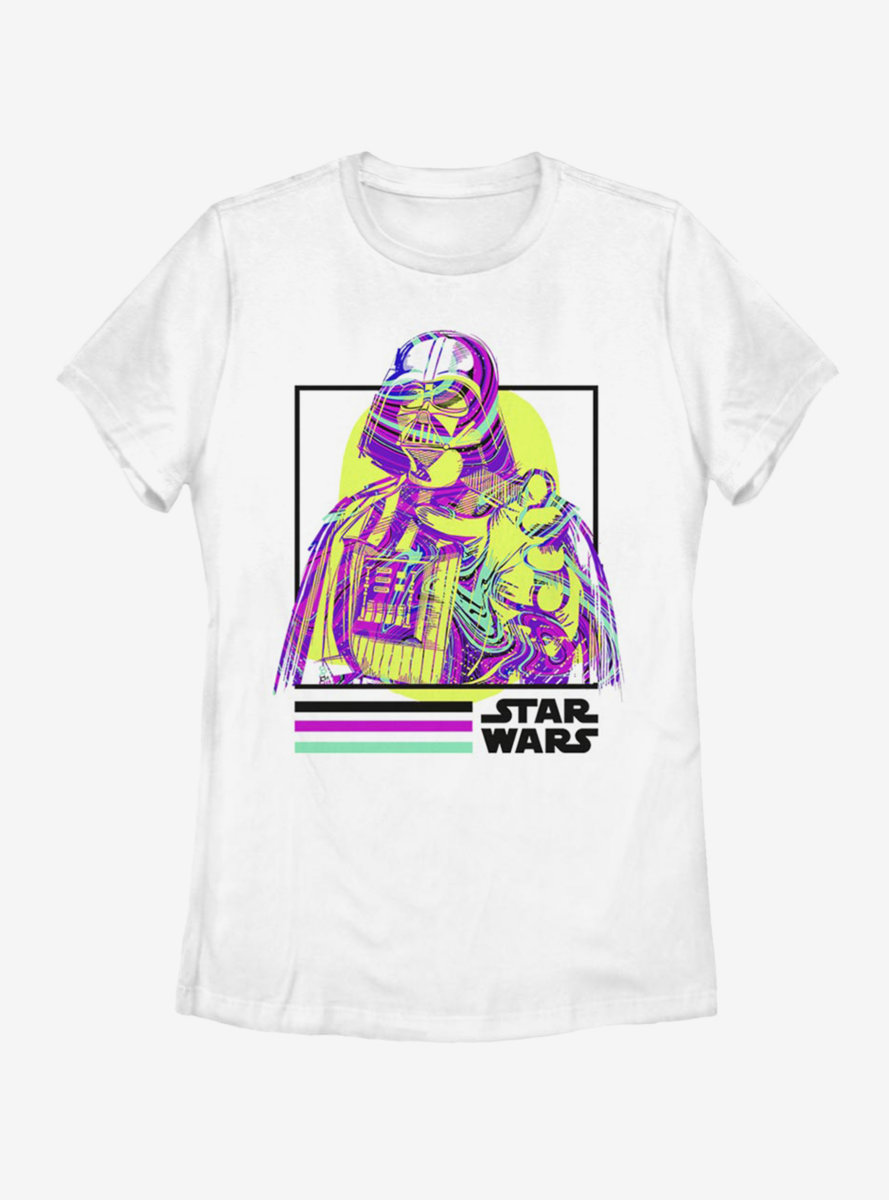 Star Wars Hyper Vader Womens T-Shirt