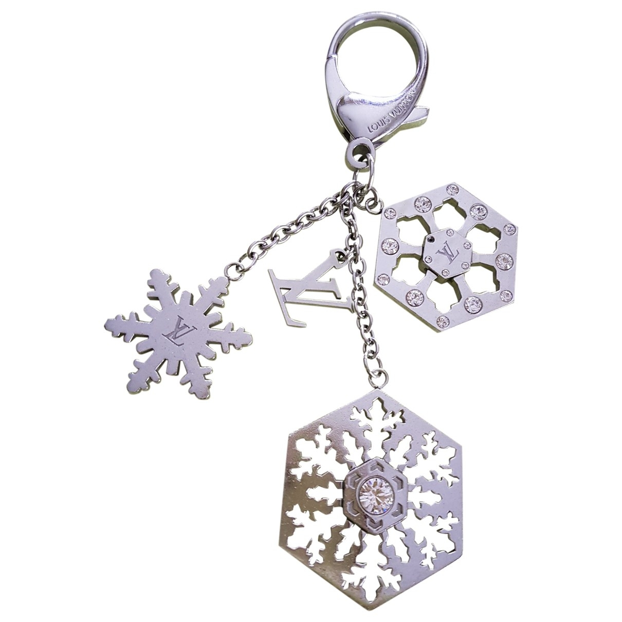 Louis Vuitton \N Silver Metal Bag charms for Women \N