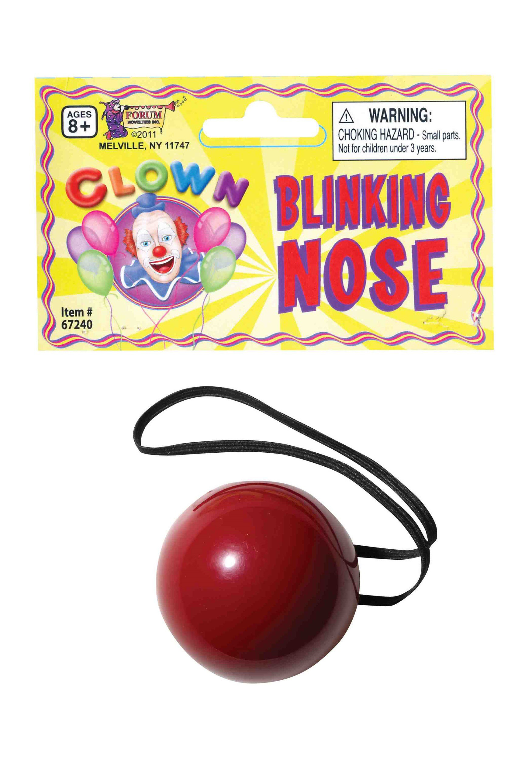 Flashing Red Nose