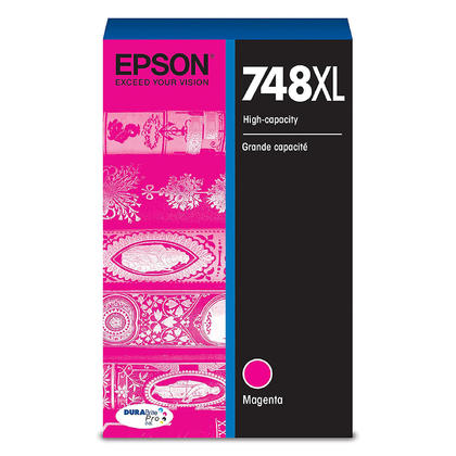 Epson 748XL T748XL320 cartouche d'encre originale magenta haute capacité