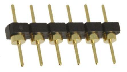 Samtec , BBL, 6 Way, 1 Row, Straight Pin Header