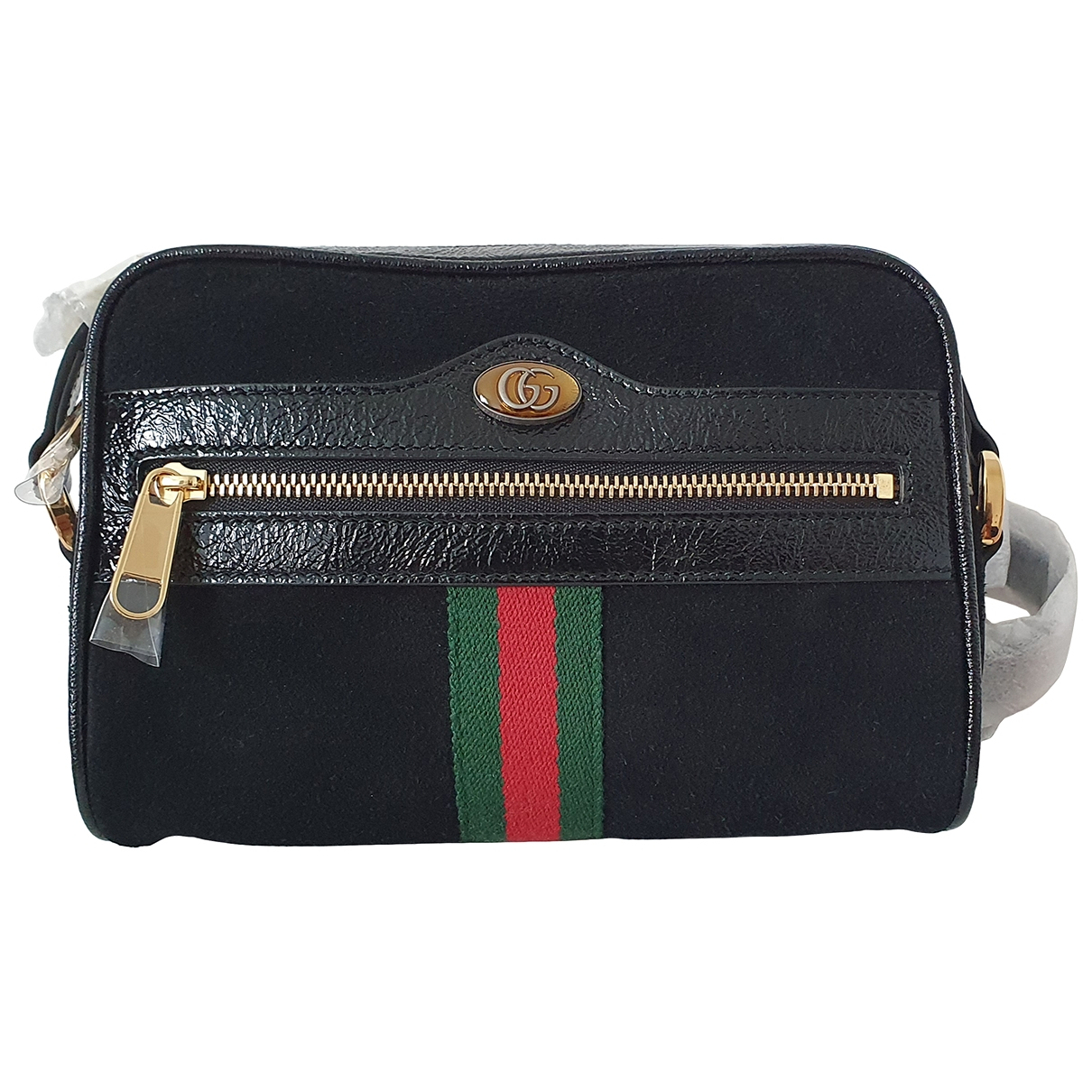 Gucci Ophidia Black Suede handbag for Women \N
