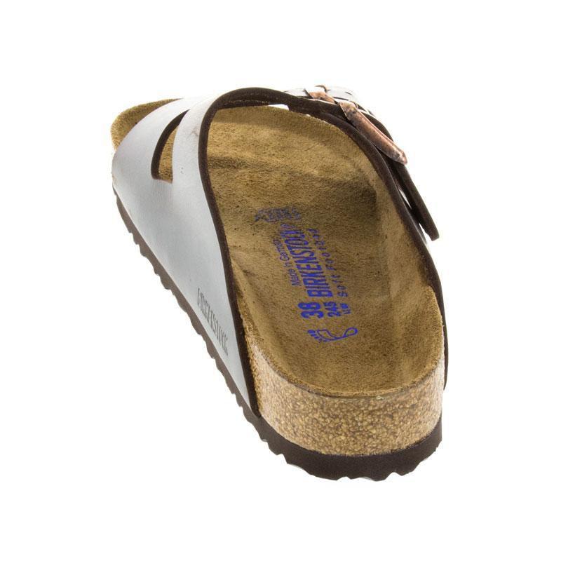 Birkenstock Arizona Brown Leather Soft Footbed 38 R