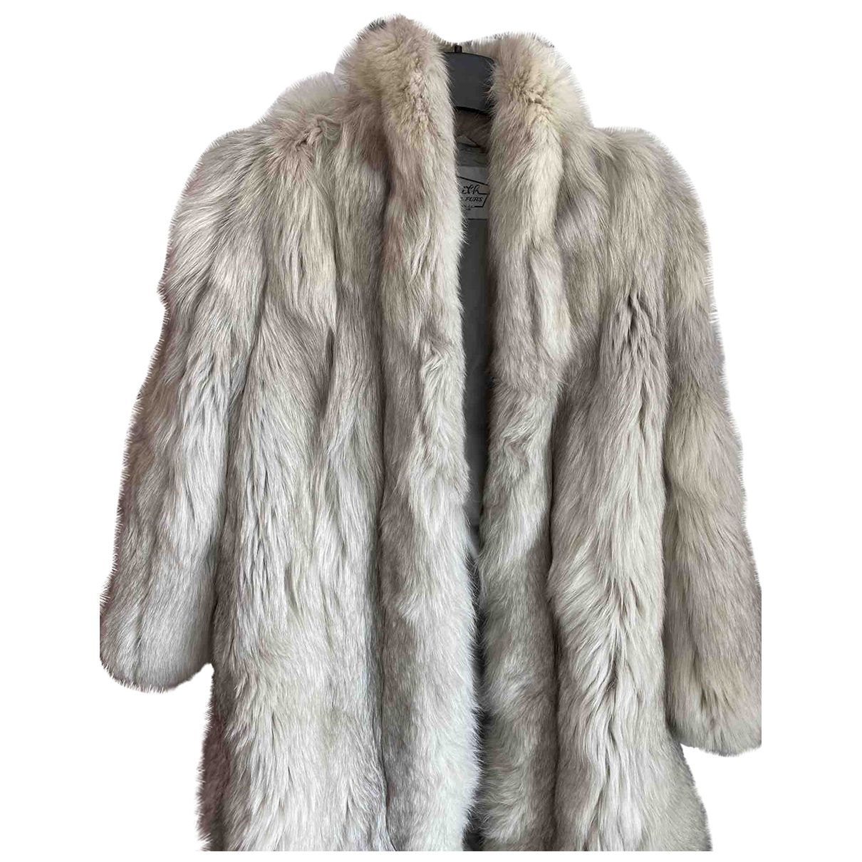 Non Signé / Unsigned \N Grey Mink coat for Women 6 US