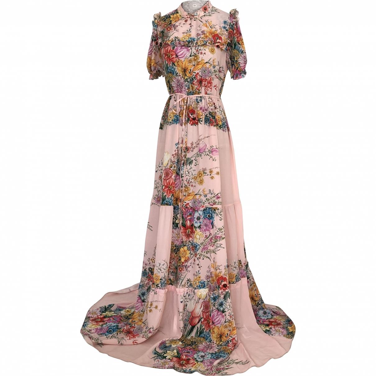 N°21 \N Pink Silk dress for Women 38 IT
