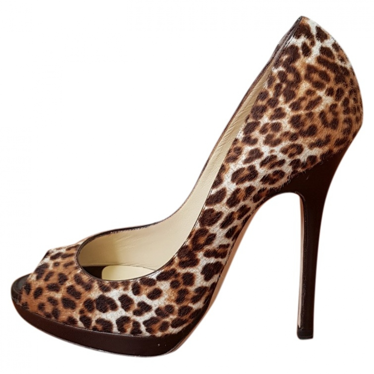 Jimmy Choo \N Pony-style calfskin Heels for Women 35.5 EU