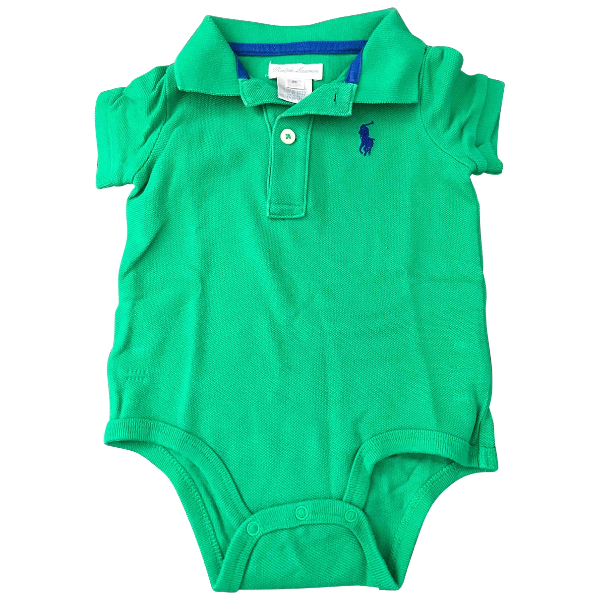 Ralph Lauren \N Green Cotton Outfits for Kids 6 months - until 26.5 inches UK