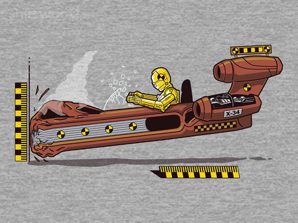 Crash Test Droid - Remix T Shirt