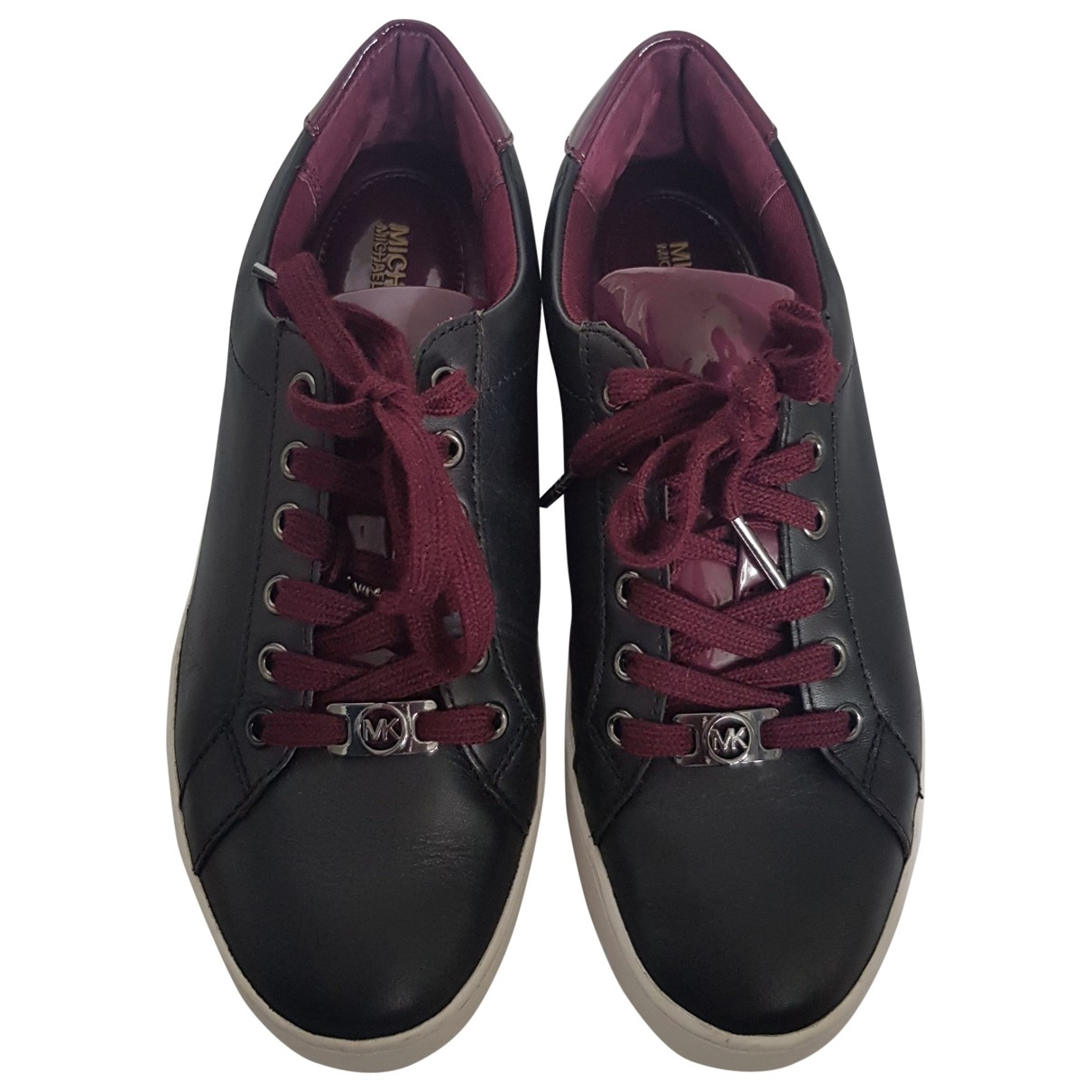 Michael Kors \N Black Leather Trainers for Women 7 US