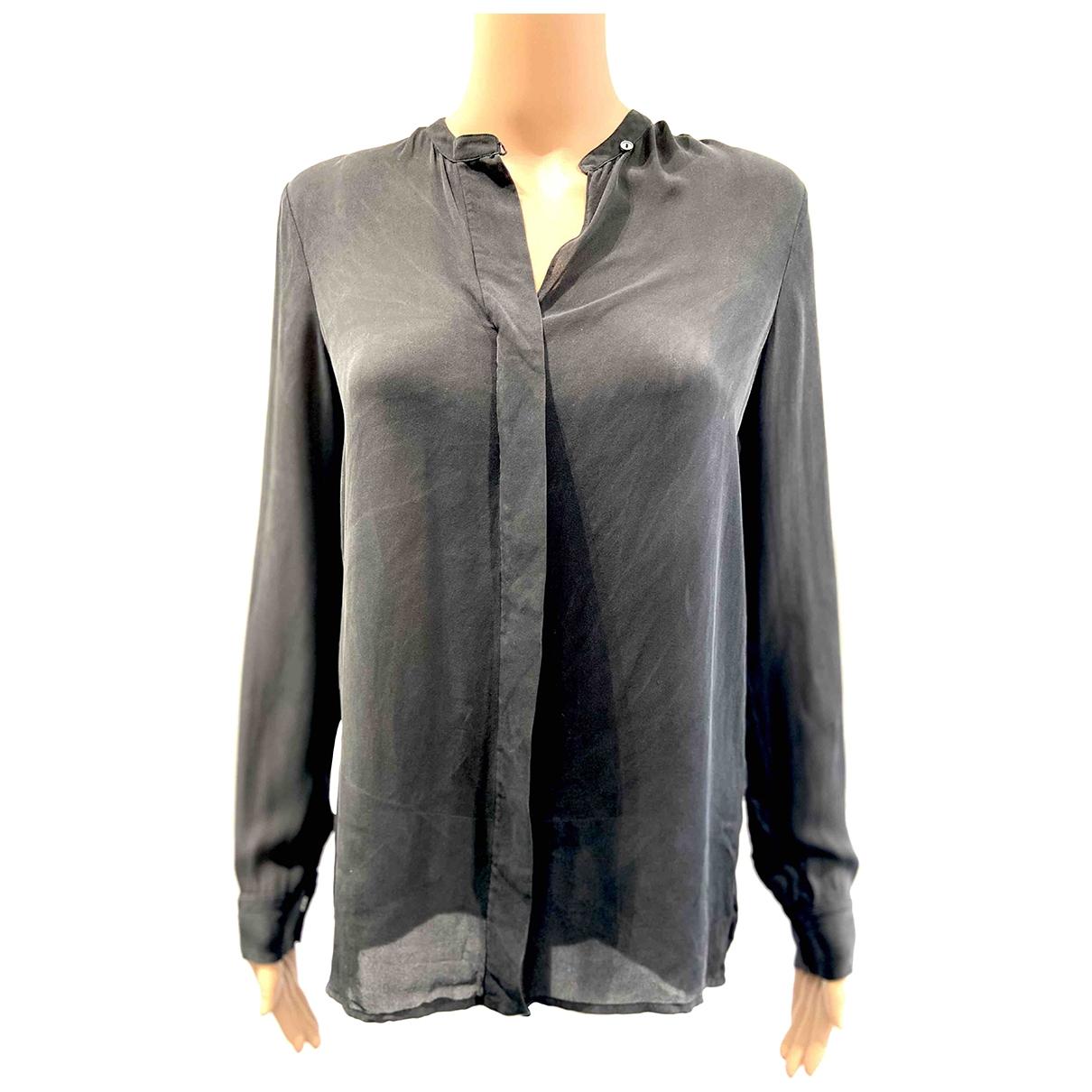 Vince \N Black Silk  top for Women 4 US
