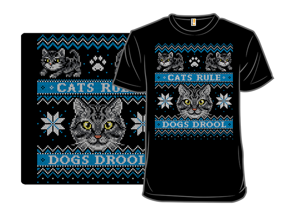 Tabby - Cats Vs. Dogs Sweater T Shirt