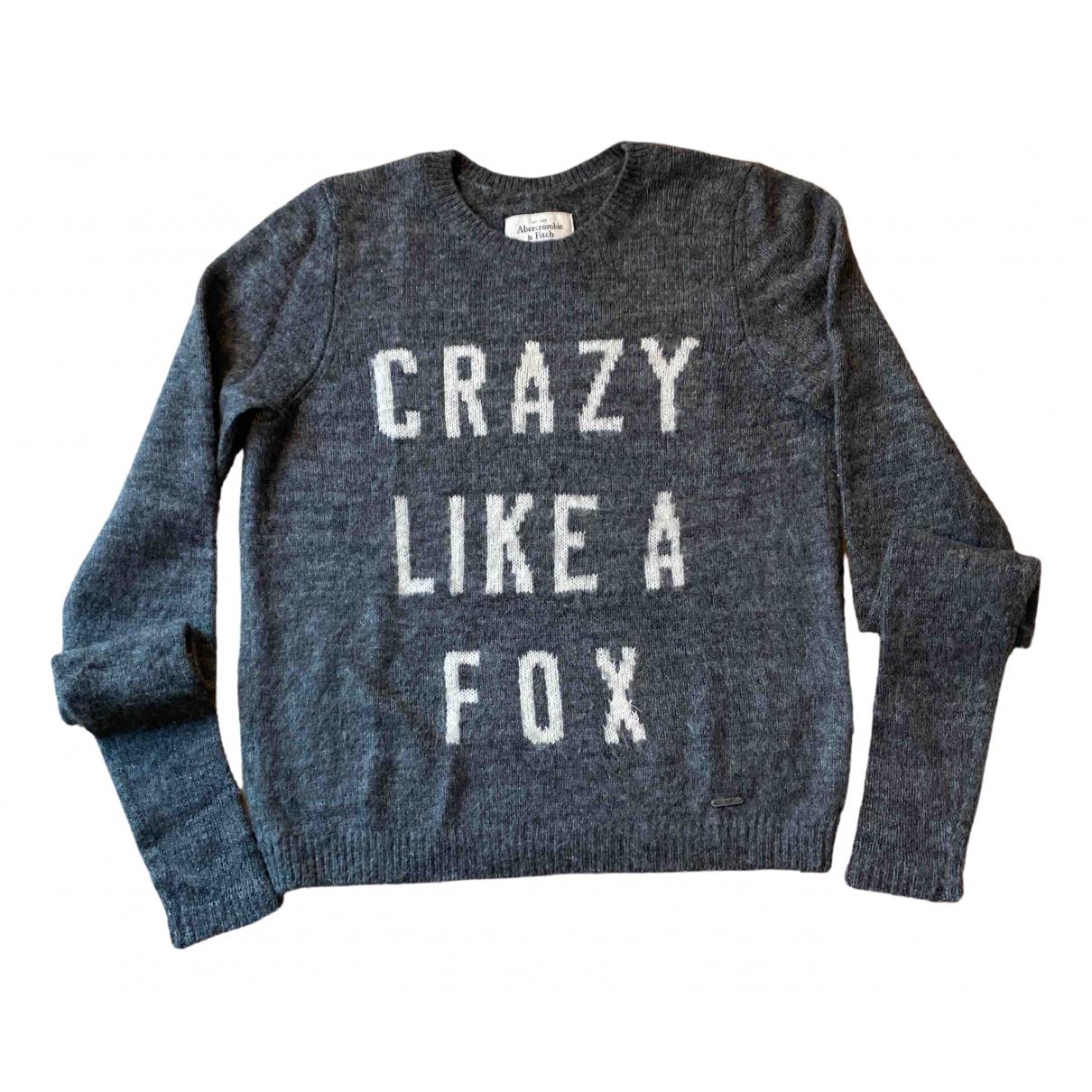 Abercrombie & Fitch N Grey Wool Knitwear for Women S International