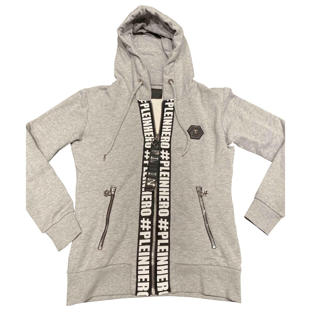Philipp Plein \N Grey Cotton Knitwear & Sweatshirts for Men M International
