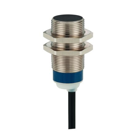 Telemecanique Sensors M18 x 1 Inductive Proximity Sensor - Barrel, NO Output, 8 mm Detection, IP68, IP69K, Cable