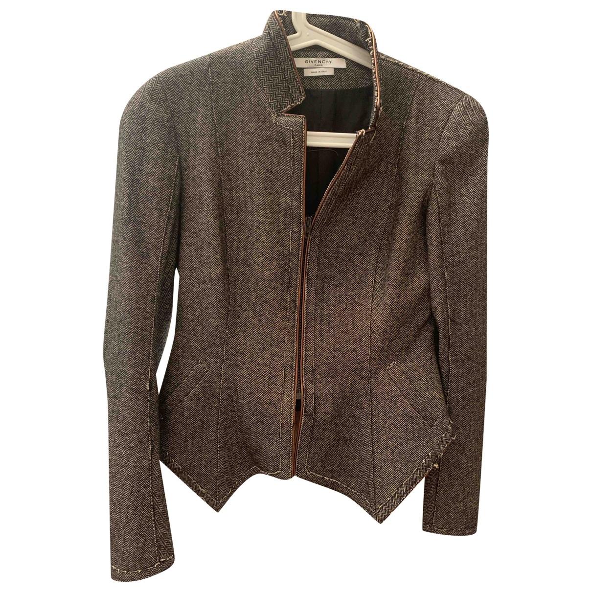 Givenchy \N Grey Wool jacket for Women 38 FR