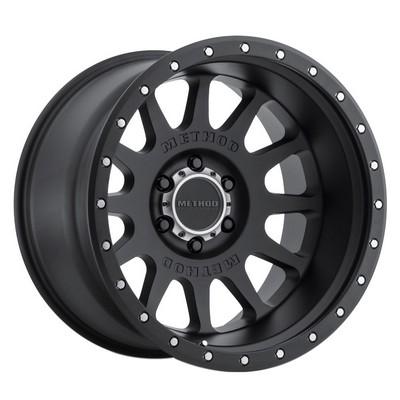 Method Race Wheels MR605 NV, 20x10 with 8x180 Bolt Pattern - Matte Black - MR60521088524N
