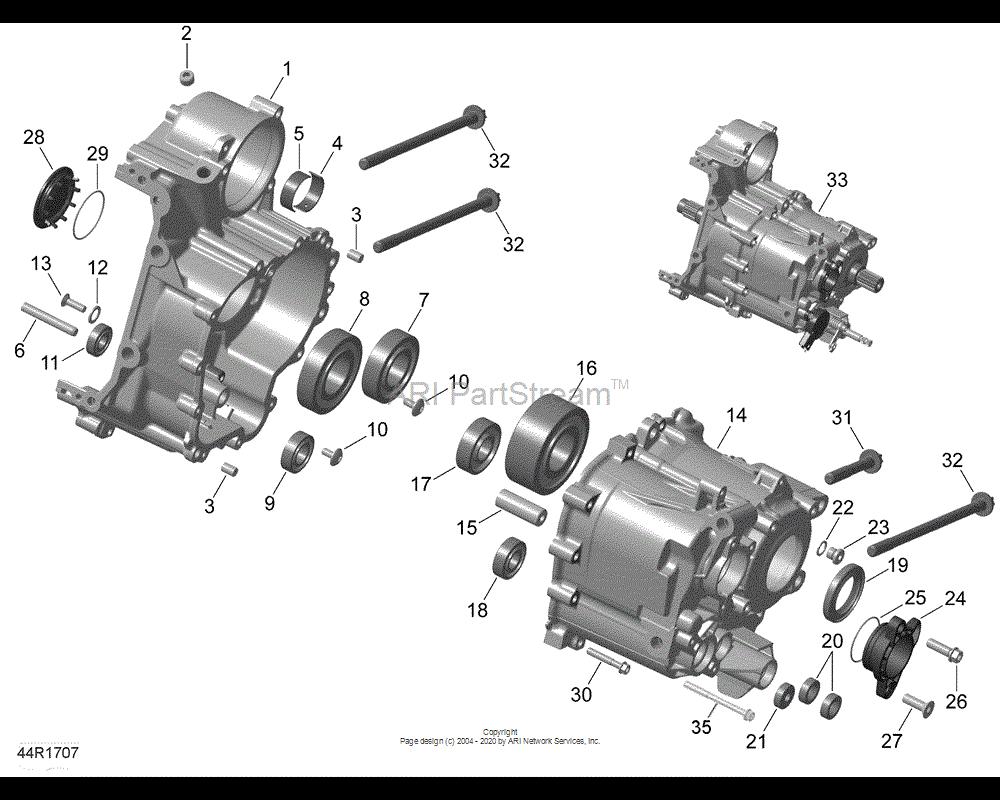 Can-AM OEM Flanged Torx Screw M6 X 20